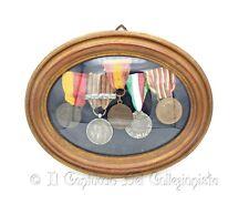 Medagliere medaglie militari guerra WW1 Artiglieria Unità Italia Monte Grappa