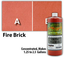 Professional Easy To Apply Water Based Concrete Stain Fire Brick
