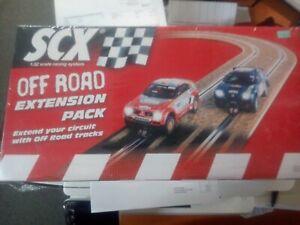 scx digital system slot car off road extension set #88700