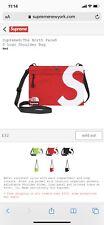 Supreme The North Face S Logo Shoulder Bag Red