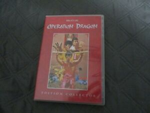 """COFFRET COLLECTOR 2 DVD """"OPERATION DRAGON"""" Bruce LEE"""