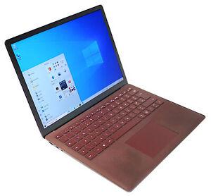 Microsoft Surface Laptop - 1769 i5-7200U 8GB RAM 256GB eMMC Burgundy Win 10 Home