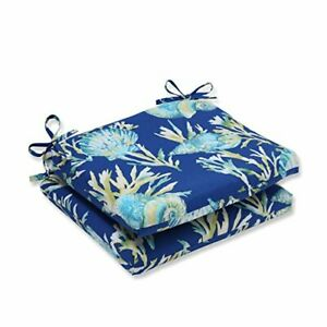 Pillow Perfect Outdoor/Indoor Daytrip Pacific Square Corner Seat Cushions 18....