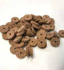 Cork Rings, 4 Medium Brown Spotted1 1/4� X 1/4�X 1/4� Hole