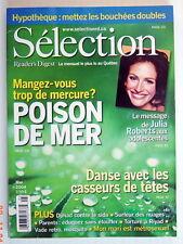 SÉLECTION DU READER'S DIGEST DE MAI 2004, EN COUVERTURE JULIA ROBERTS