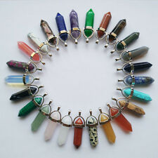 Assorted Natural stone Chakra Healing Pendants & necklaces 50pcs/lot Wholesale