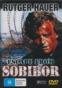 ESCAPE FROM SOBIBOR - RUTGER HAUER - NEW & SEALED REGION 4 DVD