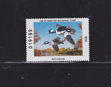 State Hunting/Fishing Revenues - NH - 1988 Duck Stamp NH-6 ($4) - MNH