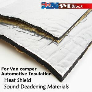 6mm/10mm Sound Deadening Materials Car Van Insulation Heat Shield Self-Adhesive