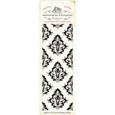 Something Tattered Wallpaper Background Clear Stamp 3x8 Study ST02 Damask