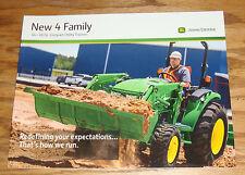 Original 2014 John Deere 4 Family Compact Utility Tractor Sales Brochure 14