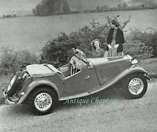 MG TD Midget Road Test Specification Review 1953 Photo Article F565