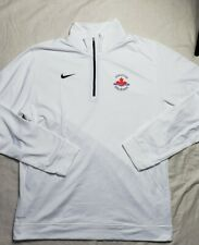 Nike Dri Fit Zip Track and Field Olympic Canada Oregon Mens Large