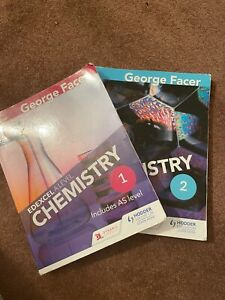 Edexcel A level Chemistry textbooks for AS and A Level