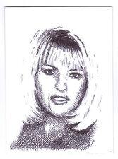 ACEO Sketch Card Joanne Jo Guest A