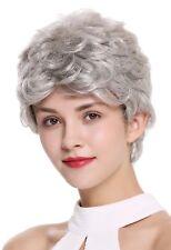 PERRUQUE pour femme court léger ondulé gris Gris Clair Gris Argenté dw2339-51