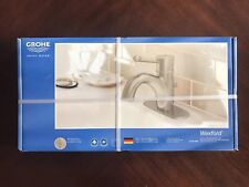 New listing Grohe Wexford 23 307 Eno Single-Handle Centerset Lavatory Faucet Brushed Nickel