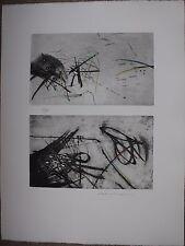 BALTAZAR Julius - Gravure pointe sèche signée numérotée rehaussée au crayon