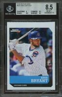 2016 si for kids #581 KRIS BRYANT chicago cubs rookie BGS 8.5 (9 8.5 9.5 9.5)