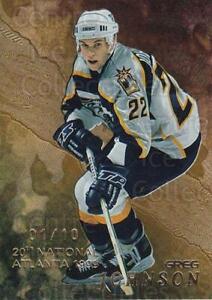 1998-99 Be A Player National Atlanta Gold #225 Greg Johnson