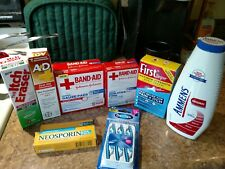 Lot of medical, & first aid health care Supplies+etc