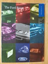 FORD CARS 1996/10 UK Market brochure - Fiesta Escort Probe Ka Mondeo Scorpio