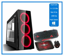 PC Pack Gamer - 2 x 3.50 Ghz  - Ram 8 Go - HDD 1000 Go - Windows 10