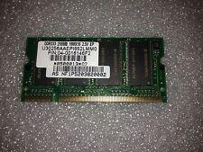 Memoria sodimm DDR ELPIDA 256 mb PC2700 333 MHZ U30256AAEPI652LMM0
