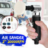 Mini Air Grinder Polisher 90° Angle Orbital Polishing Car Grinding Sander Pad