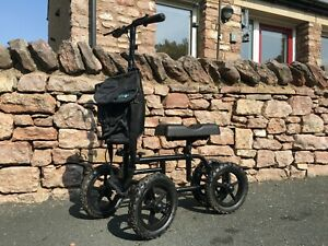 Vive mobility all-terrain knee walker scooter - used, for broken ankle and leg