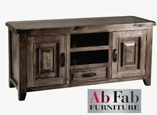 BAROSSA TV ENTERTAINMENT UNIT FULLY CONSTRUCTED LOW LINE LOWLINE TIMBER DRAWER