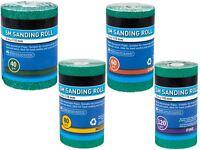 BlueSpot 5m Aluminium Oxide Sanding Roll 40 60 80 120 Grit Anti Clog Sandpaper