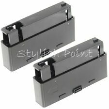 Airsoft Mag 2pcs 27rd Magazine for Well MB06 APS SR2 Bolt Action Sniper Rifle