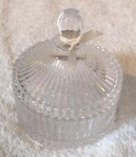Vintage style, Shabby Chic Glass Trinket Box