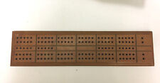 Vintage Wood Cribbage Game Board Set from 1940s