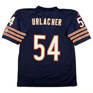 Vtg Chicago Bears Youth Jersey Brian Urlacher #54 Adidas NFL Football Size Kid 6