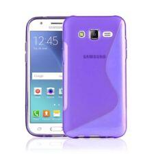 Fundas Para Samsung Galaxy J5 color principal morado para teléfonos móviles y PDAs