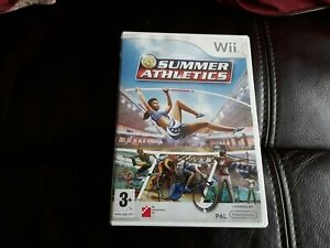 Wii SUMMER ATHLETICS VERY GOOD CONDITION