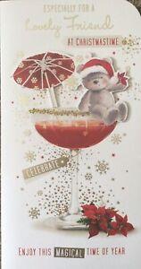 FRIEND CHRISTMAS CARD