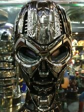 LED LIGHT UP 1/1 Terminator Salvation T3 Skull Endoskeleton Bust Statue NEW