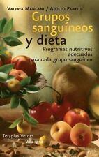 Grupos sanguíneos y dieta (Vida sana) (Spanish Edition)-ExLibrary