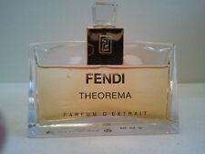 VINTAGE FENDI THEOREMA PARFUM D'EXTRAIT 25ML WOMEN'S PERFUME FRAGRANCE RARE
