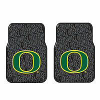 Brand New NCAA Oregon Ducks Car Truck 2 Front All Weather Rubber Floor Mats