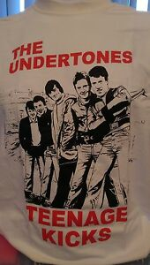 THE UNDERTONES - TEENAGE KICKS - 100% COTTON T-SHIRT