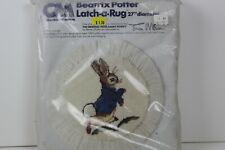 """Beatrix Potter Latch A Rug 27"""" Diameter Columbia Minerva New"""