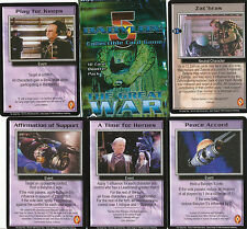 Babylon 5 Great War Common card Set (100)
