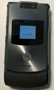 READ FIRST Motorola RAZR V3xx Gray (Unlocked) Cellular Phone Very Good Used