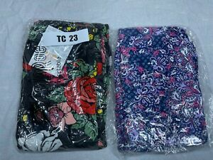 2 Pair Tall and Curvy LuLaRoe Leggings TC 23