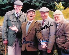 Bill Owen / Norman Wisdom / Brian Wilde /  Peter Sallis Autograph,  Signed Photo
