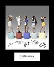 THE SATURDAYS #2 Signed Photo Print 10x8 Mounted Photo Print - FREE DELIVERY